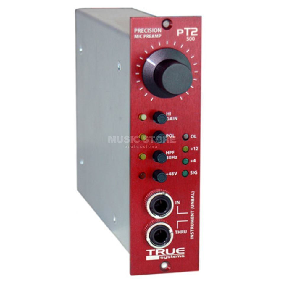 True Systems PT2-500 High Precision Preamp for 500er API Modul Block Produktbillede