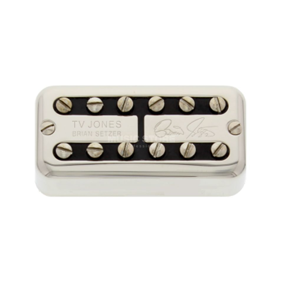 TV Jones Brian Setzer Signature, Bridge Nickel, Universal Mount Produktbild