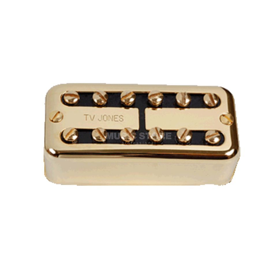 TV Jones TV Classic gold bridge No Ear Mount Produktbillede