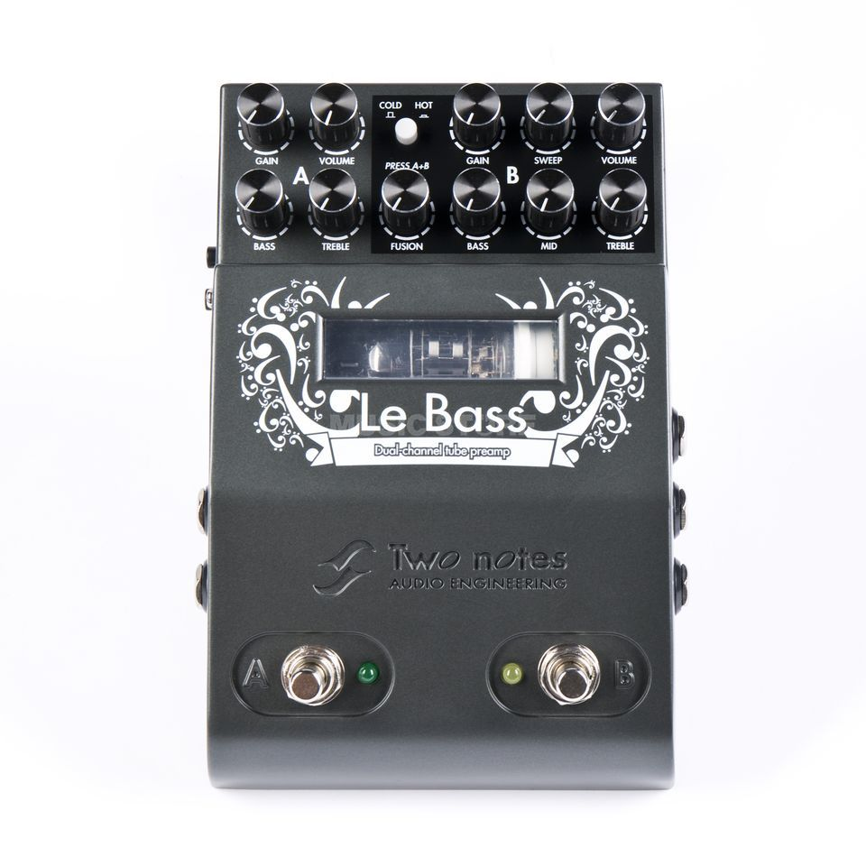 Two Notes Le Bass Dual Channel Preamp Produktbild