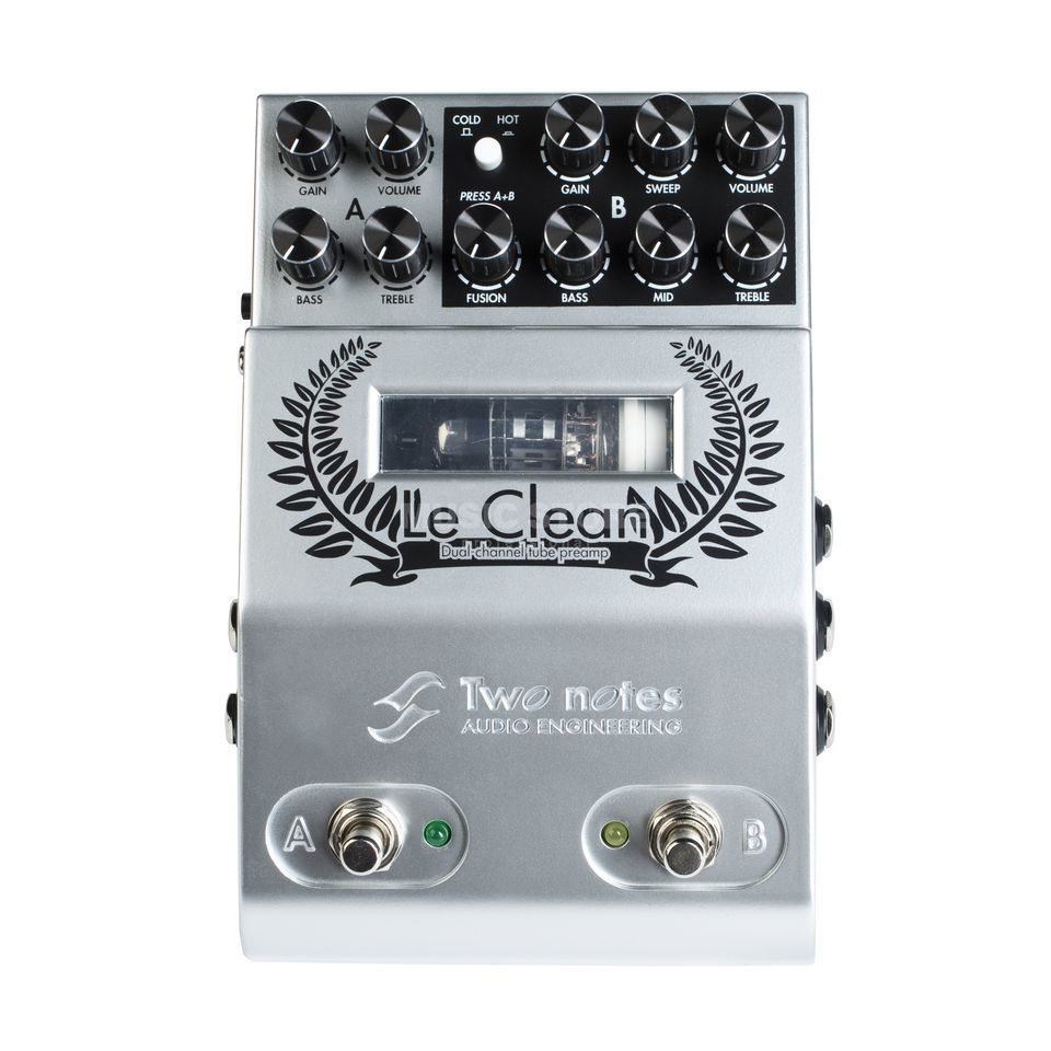 Two Notes Le Clean Dual Channel Preamp Product Image