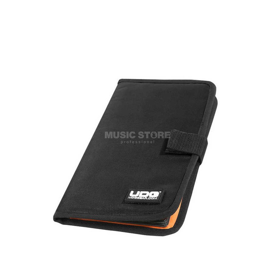UDG CD Wallet 24 Black/Orange inside (U9980BL/OR) Produktbild