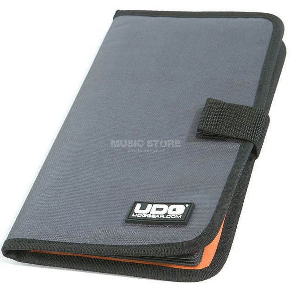 UDG CD Wallet 24 Steel Grey/Orange Inside U9980SG/OR Productafbeelding