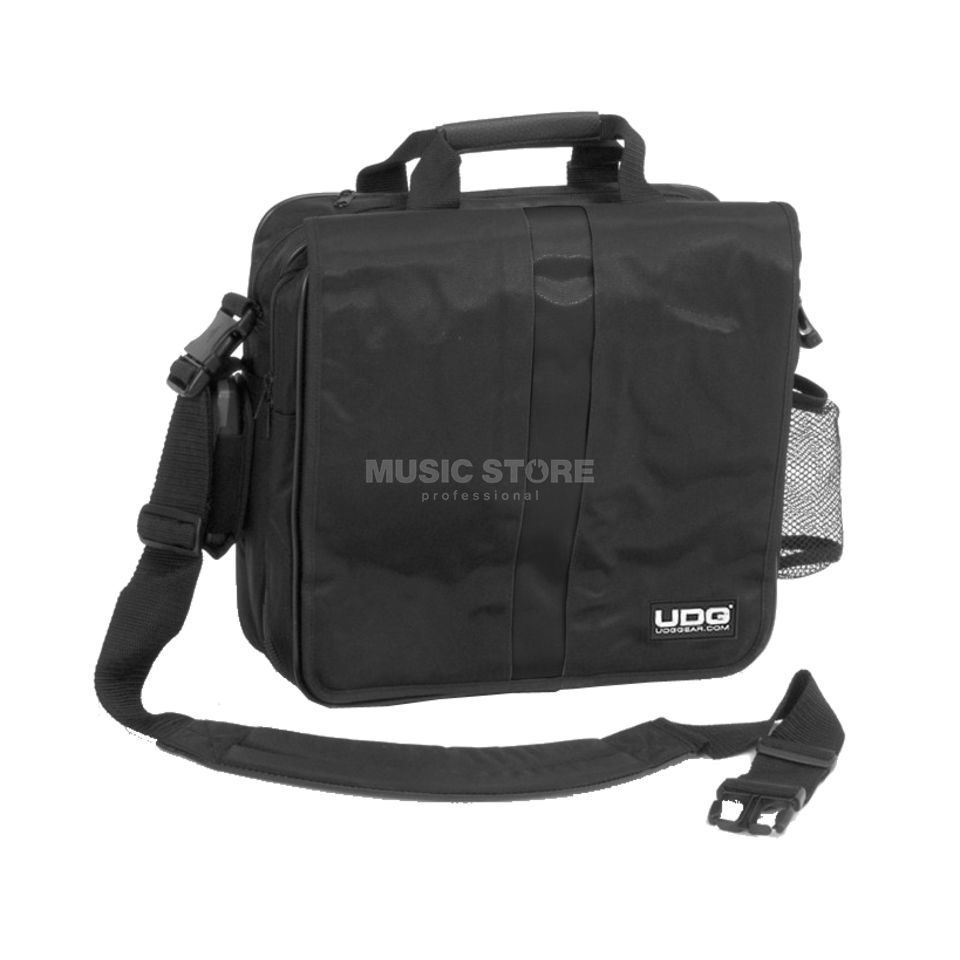 UDG Courier Bag Deluxe black for 45 LP´s Produktbillede