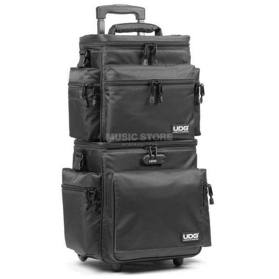 UDG Sling Bag Trolley Set Deluxe zwart/orange inside U9679BL/OR Productafbeelding