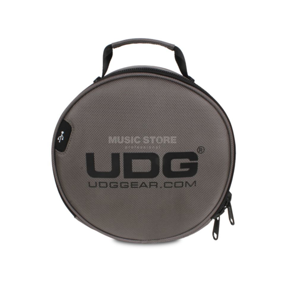 UDG Ultimate Digi Headphone Bag Charcoal (U9950CH) Produktbillede