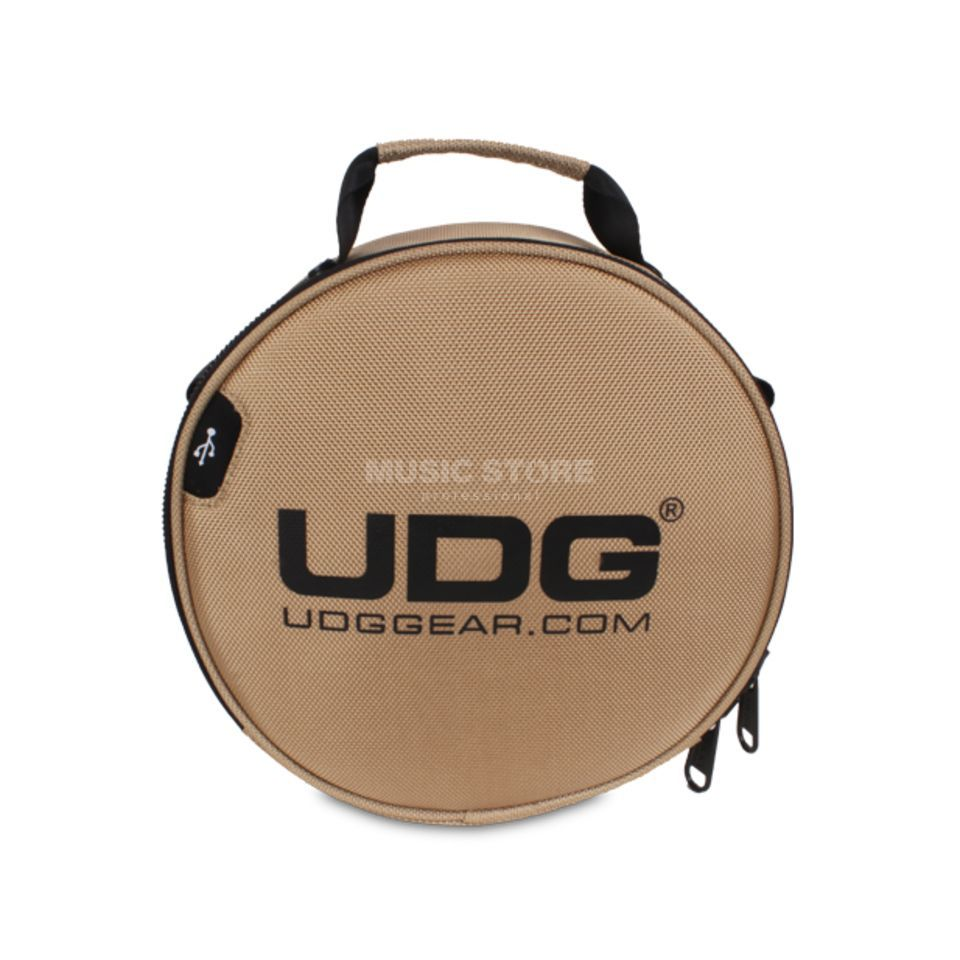 UDG Ultimate Digi Headphone Bag Gold (U9950GD) Produktbild