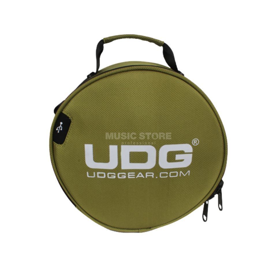 UDG Ultimate Digi Headphone Bag Green (U9950GR) Product Image