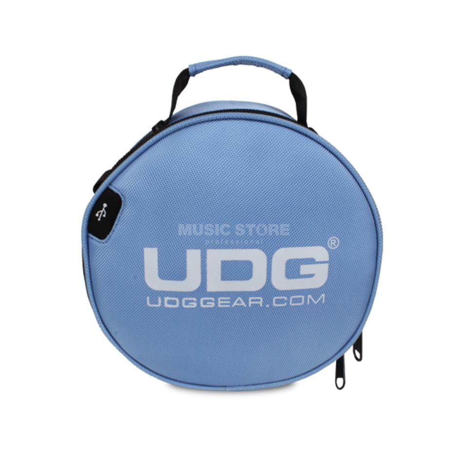 UDG Ultimate Digi Headphone Bag Light Blue (U9950LB) Produktbillede