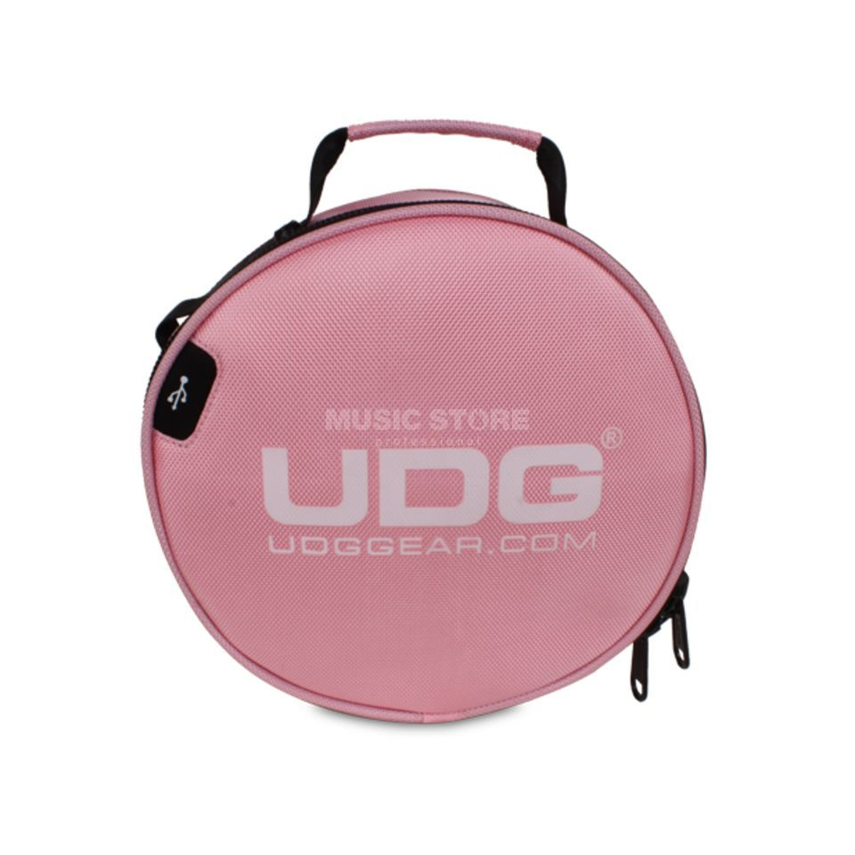 UDG Ultimate Digi Headphone Bag Pink (U9950PK) Produktbillede