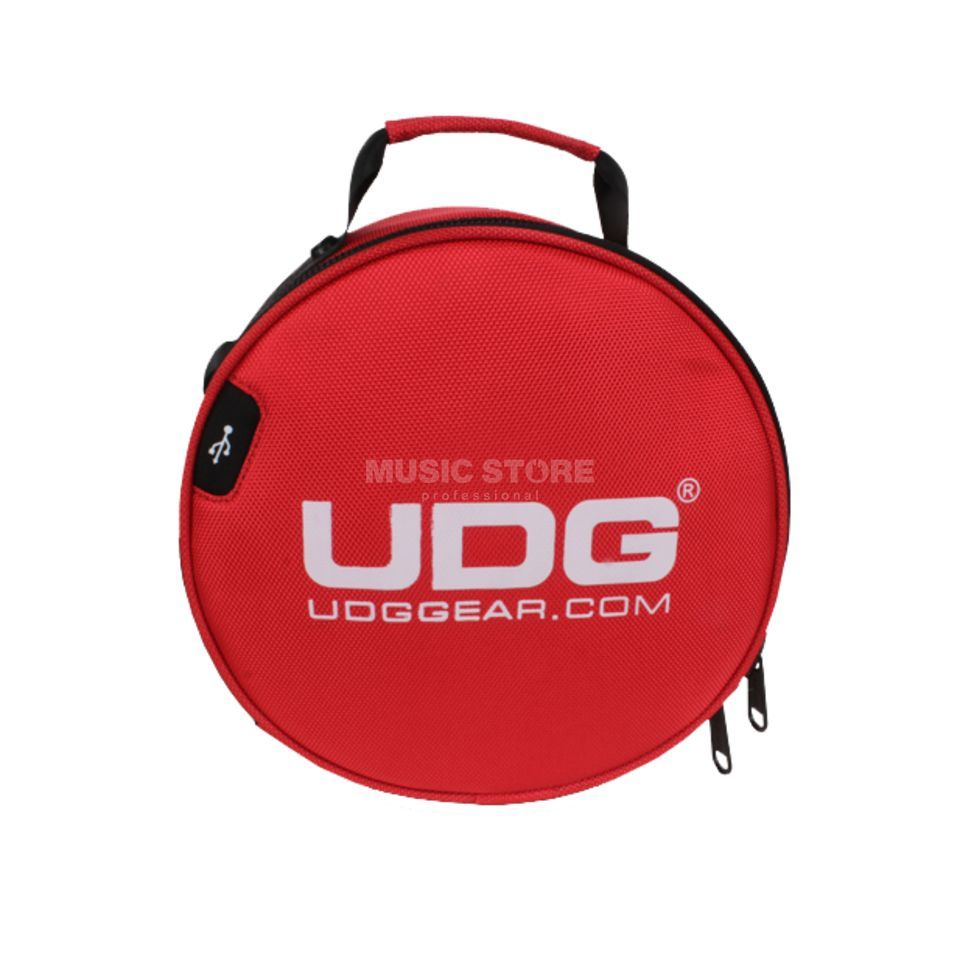 UDG Ultimate Digi Headphone Bag Red (U9950RD) Produktbillede