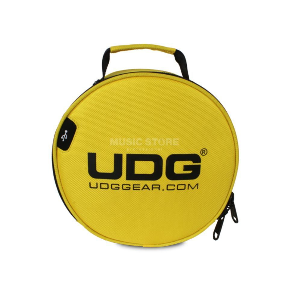 UDG Ultimate Digi Headphone Bag Yellow (U9950YL) Produktbillede