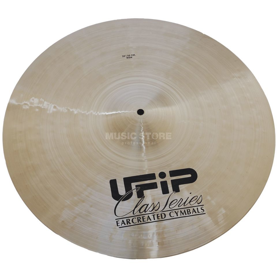 "Ufip Class Medium Ride 20"", Natural Finish Produktbillede"
