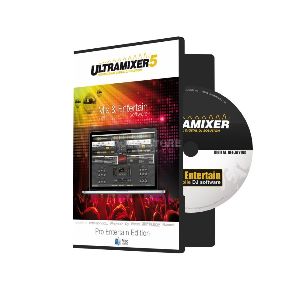 UltraMixer 5 Pro Entertain (Mac) Produktbild
