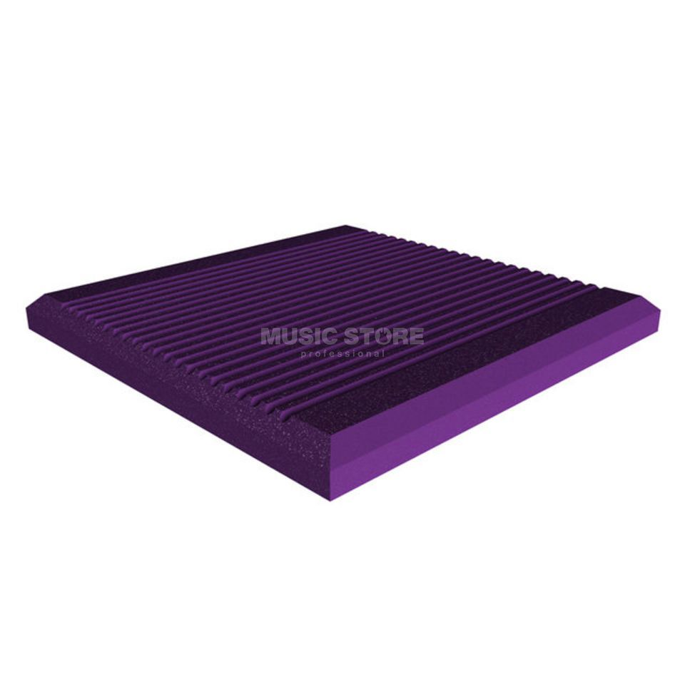 Universal Acoustics Jupiter Wedge 600x600x50 mm 10er Pack, gerieft, violett Produktbild