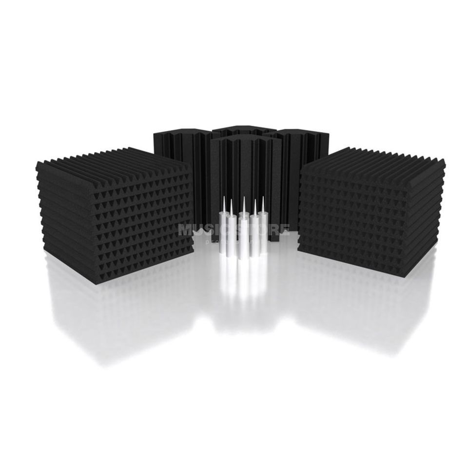Universal Acoustics Mercury-3 Room Kit 26-teilig, 7,2m², anthrazit Produktbild