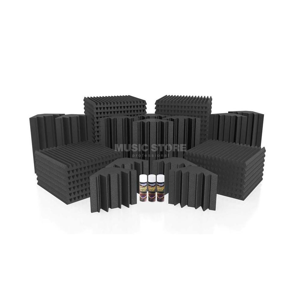 Universal Acoustics Mercury-5 Room Kit 55-teilig, 14,4m², anthrazit Produktbild