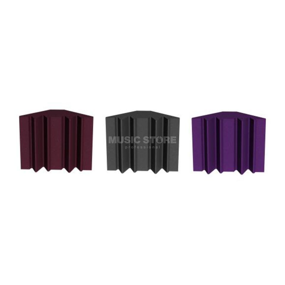 Universal Acoustics Mercury Bass Trap Pack Burgundy - Pack Of 4 Produktbillede