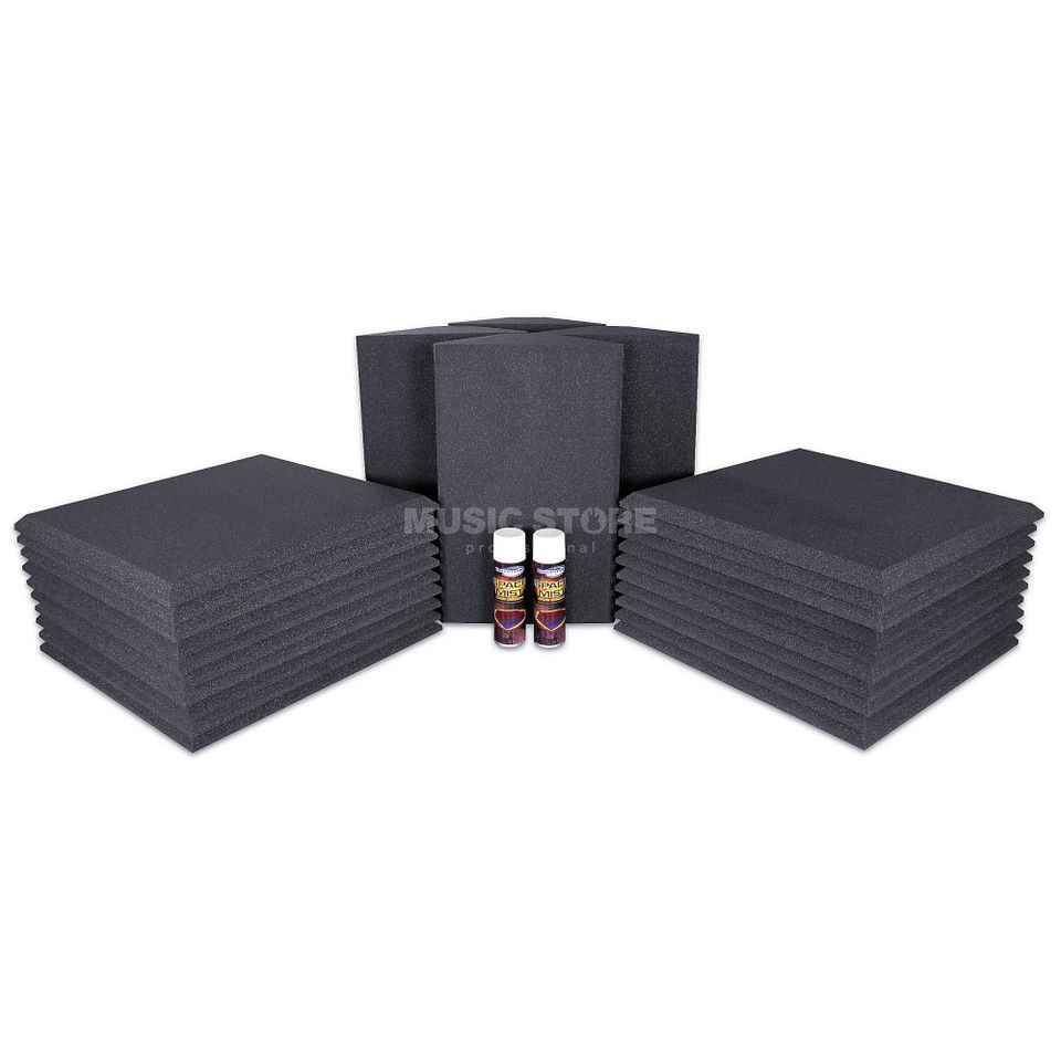Universal Acoustics Neptune-3 Room Kit 26-piece, 7.2m², anthracite Product Image