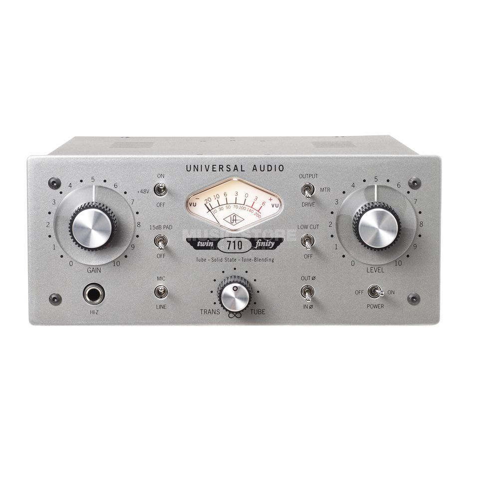 Universal Audio 710 Twin-Finity Mic/Line Preamp & Hi-Z DI Product Image