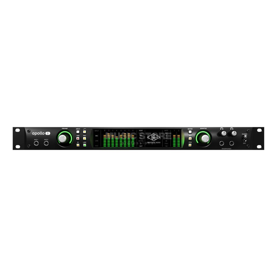 Universal Audio Apollo 8 Quad black  Produktbild