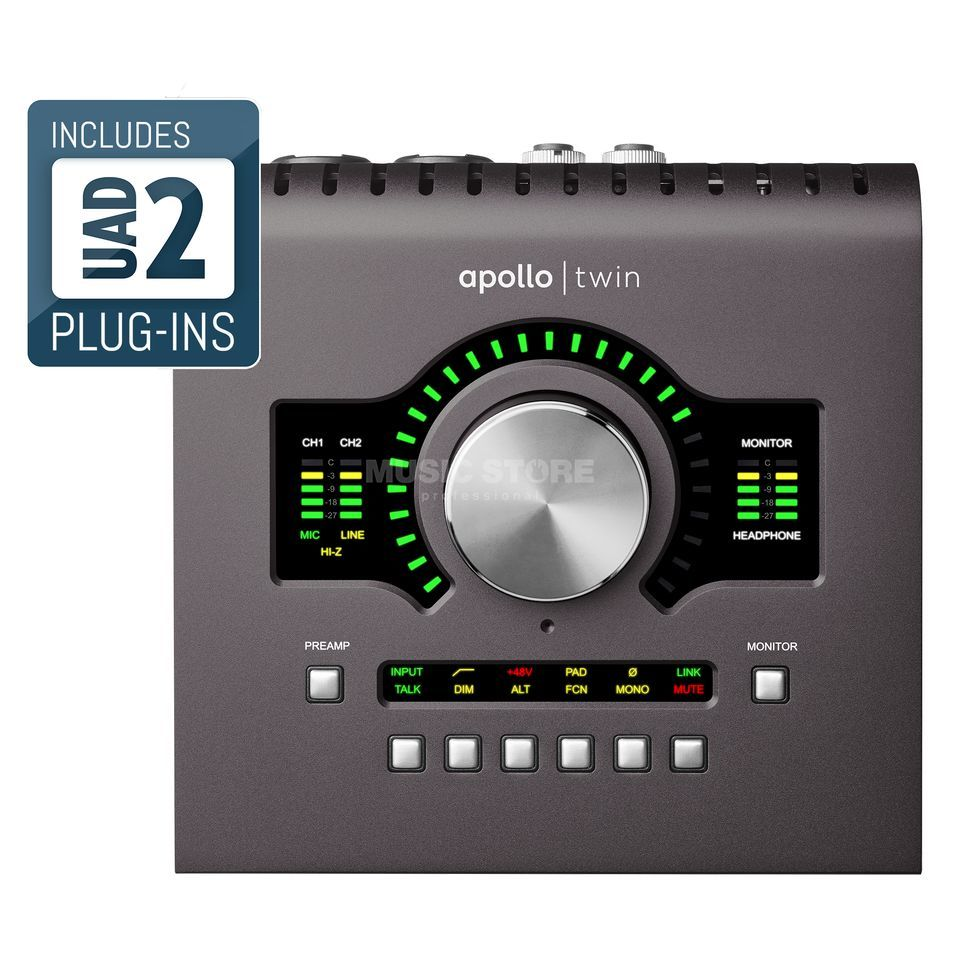 Universal Audio Apollo Twin MKII Solo Product Image