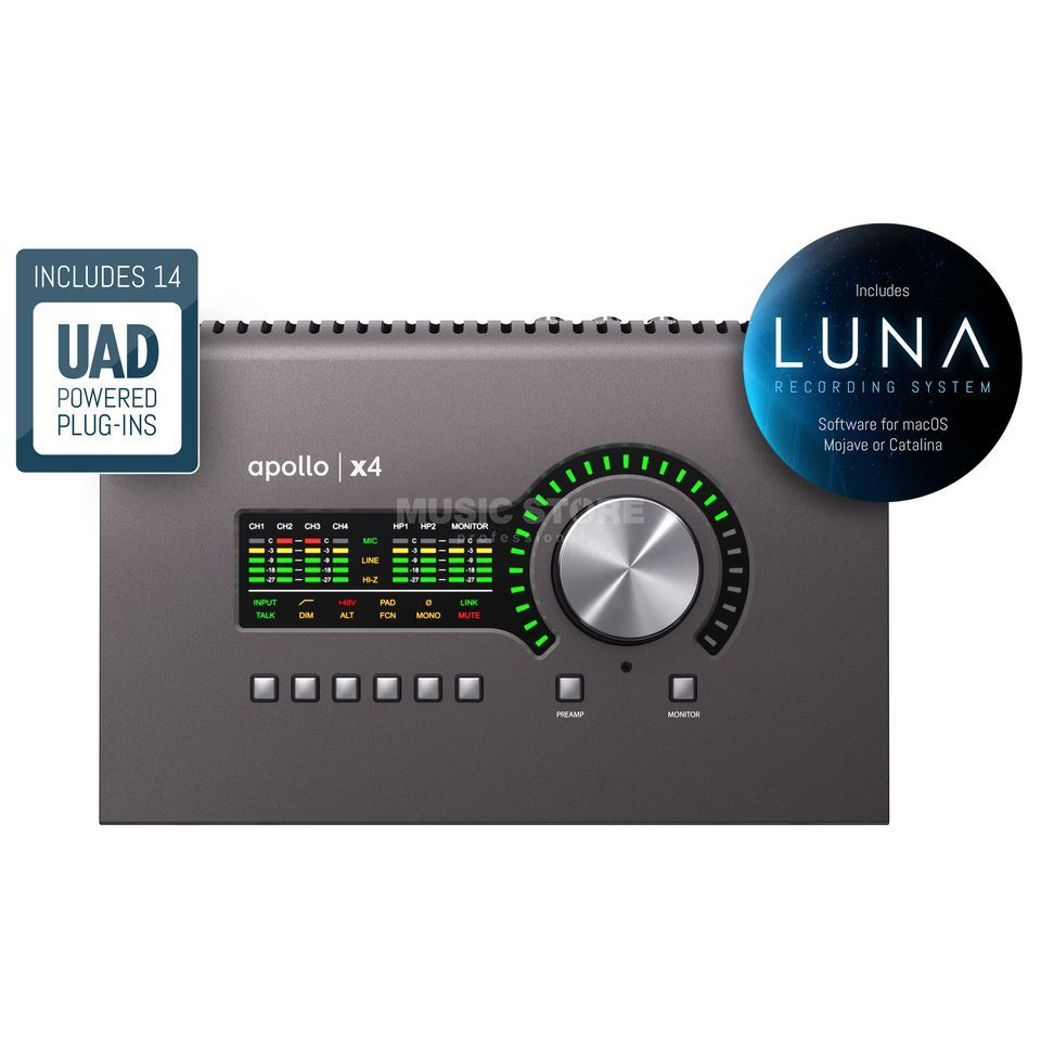 Universal Audio Apollo X4 (Thunderbolt)  | MUSIC STORE professional | ru-RU