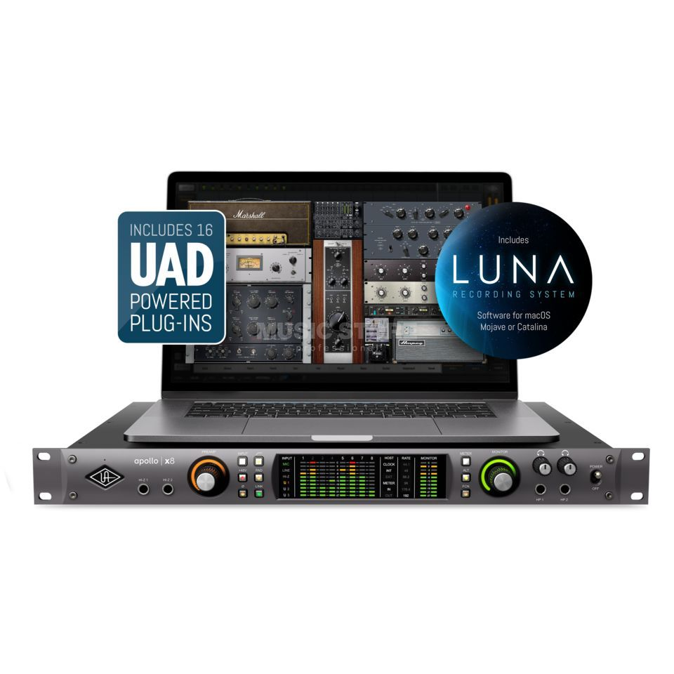 Universal Audio Apollo X8 Product Image