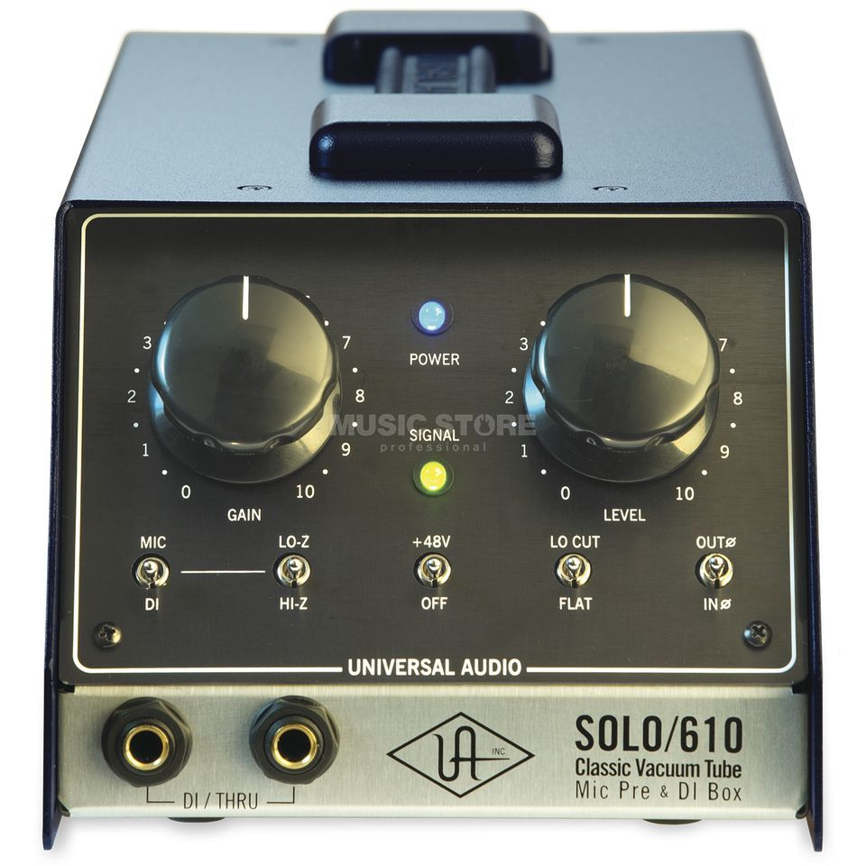 Universal Audio Solo 610 1-CH Tube Mic/Line Preamp Produktbild