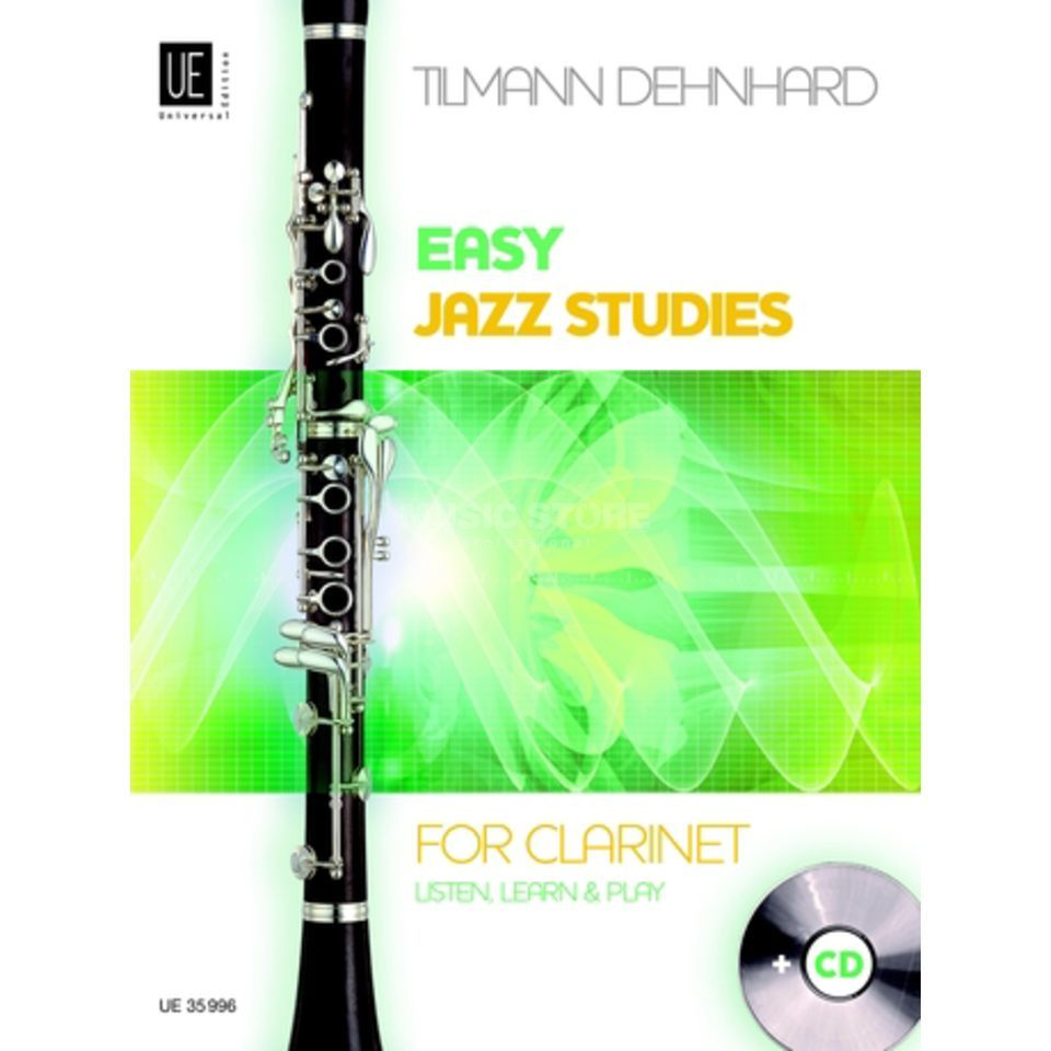 Universal Edition Easy Jazz Studies Klarinette Produktbillede
