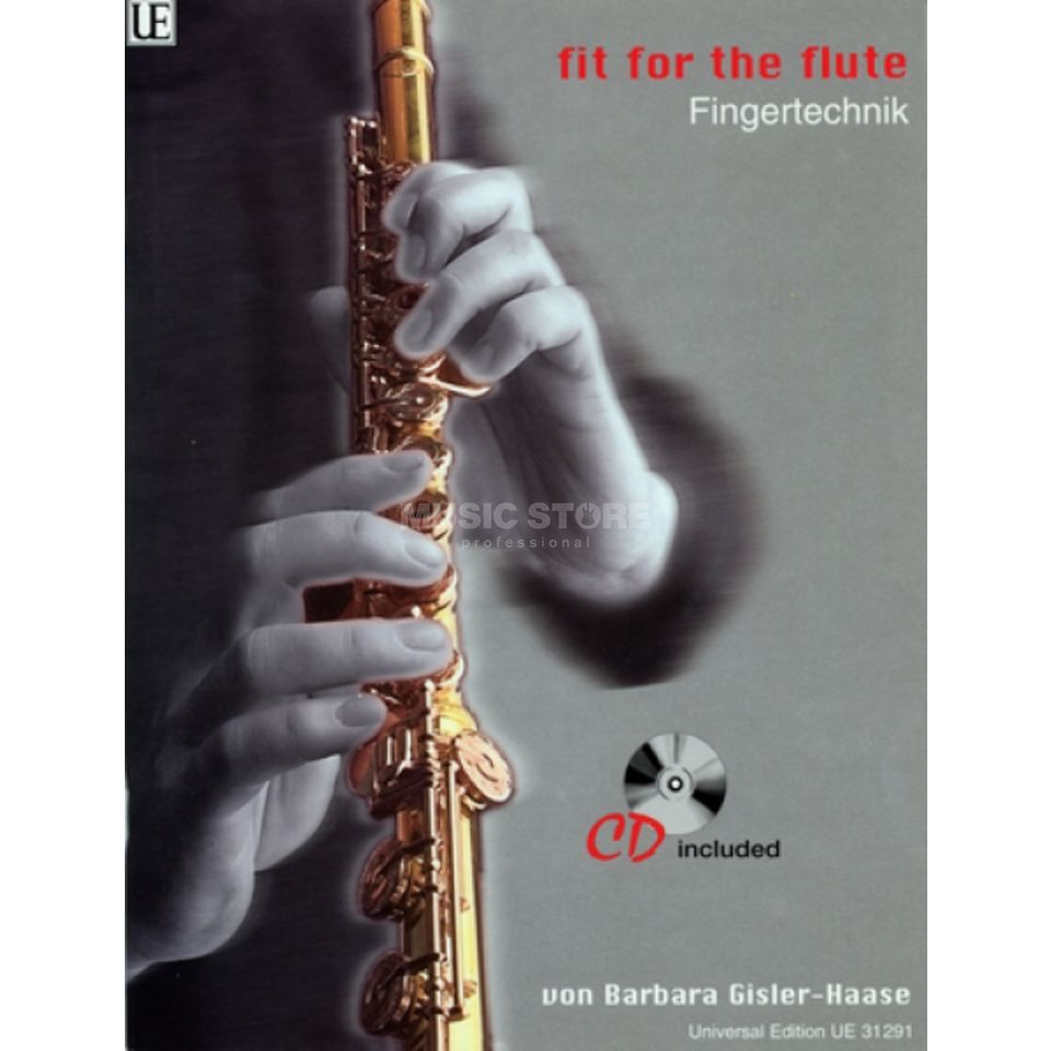 Universal Edition Fit for the Flute 1 mit CD Gisler-Haase, Querflöte Produktbild