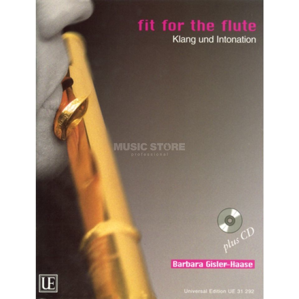Universal Edition Fit for the Flute 2 mit CD Gisler-Haase, Querflöte Produktbild