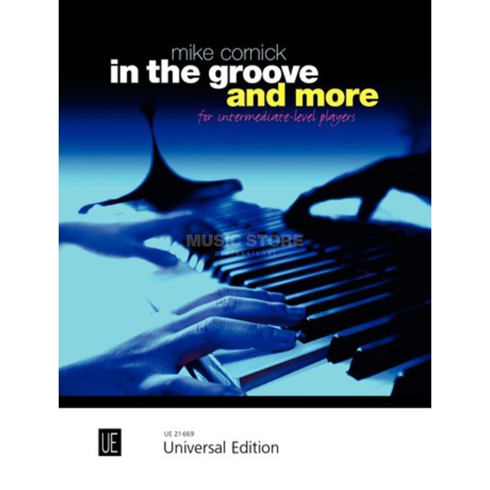 Universal Edition In the Groove and More Mike Cornick Klavier Produktbild
