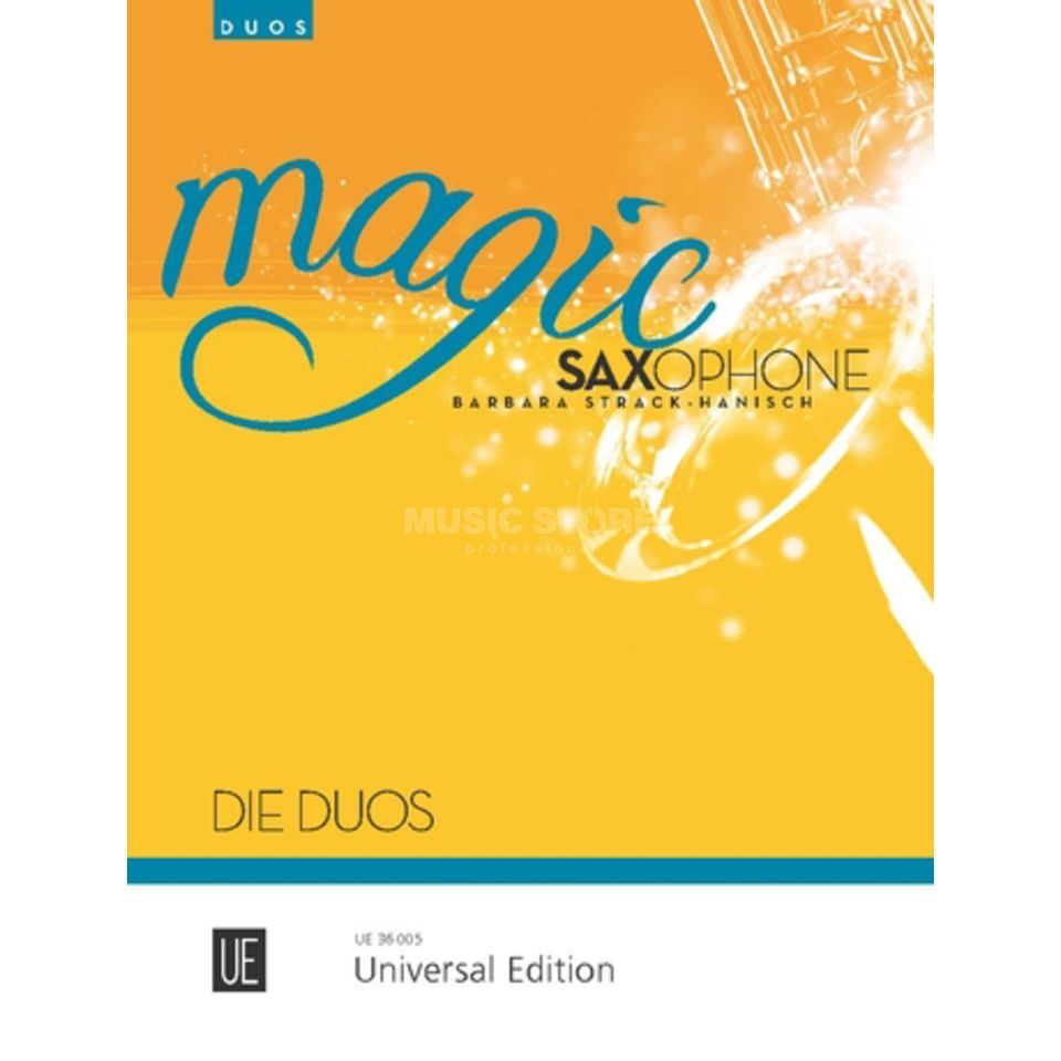Universal Edition Magic Saxophone - Duos Produktbild