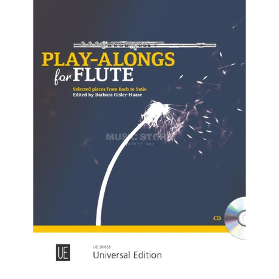 Universal Edition Play-Alongs for Flute Produktbild
