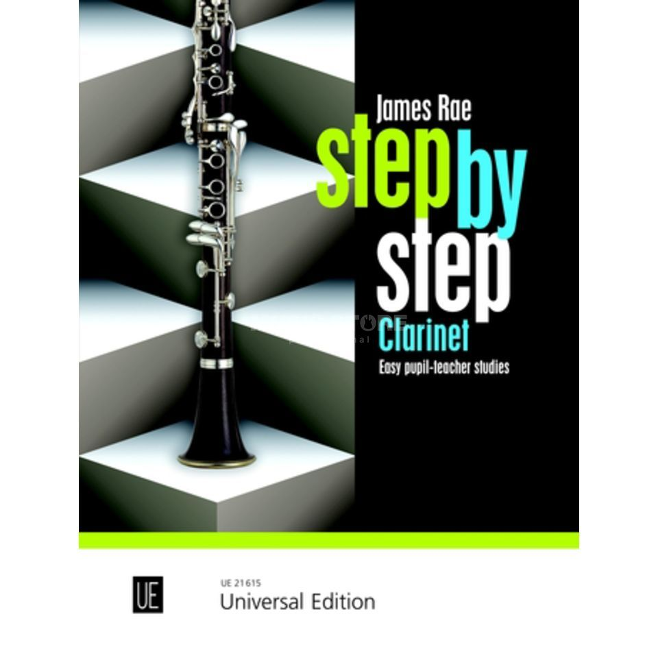 Universal Edition Step by Step - Klarinette James Rae Produktbillede