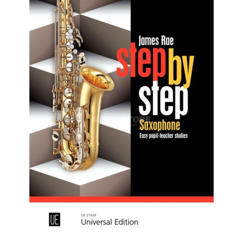 Universal Edition Step by Step - Saxophon James Rae Produktbild
