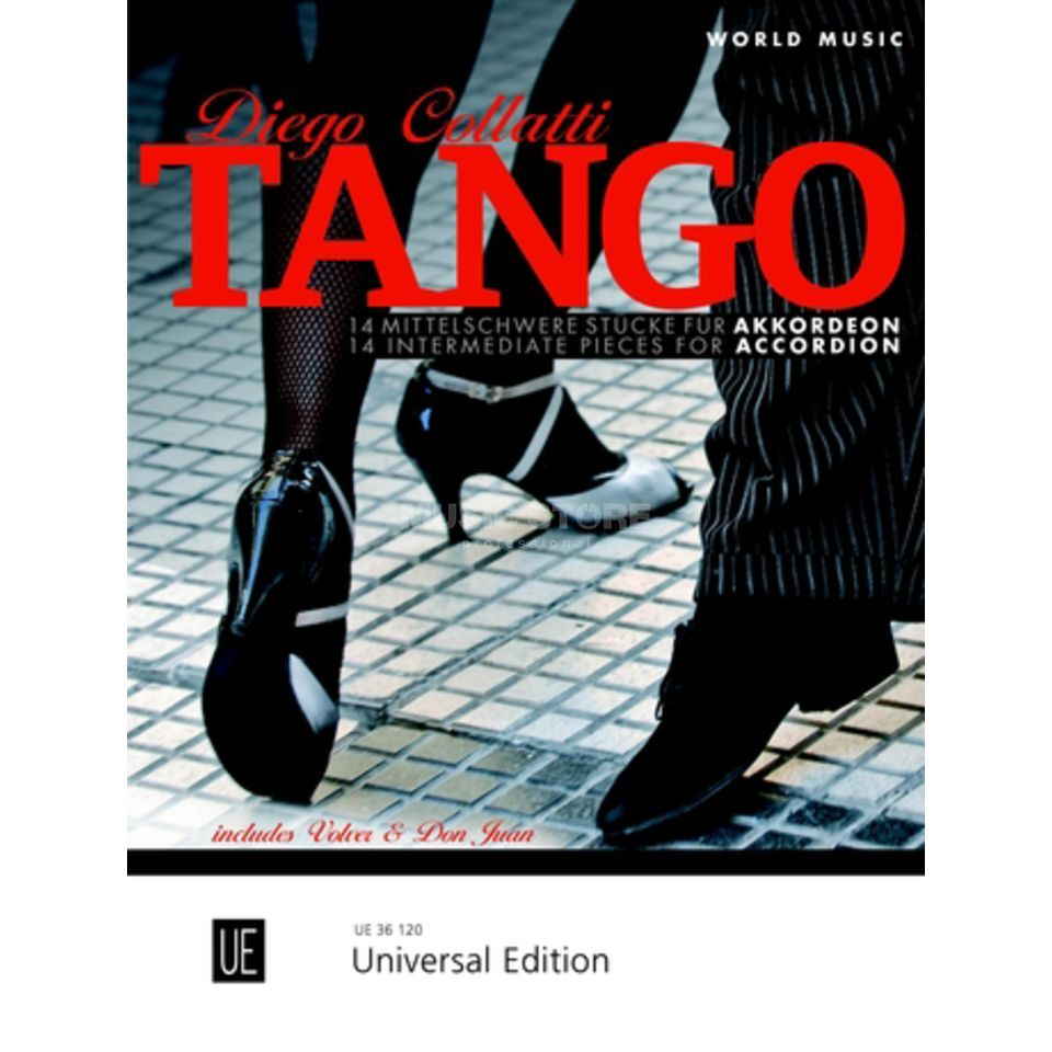 Universal Edition Tango Accordion Produktbillede