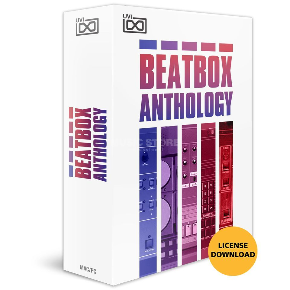 UVI Beat Box - Anthology CODE Software Instrument Produktbillede