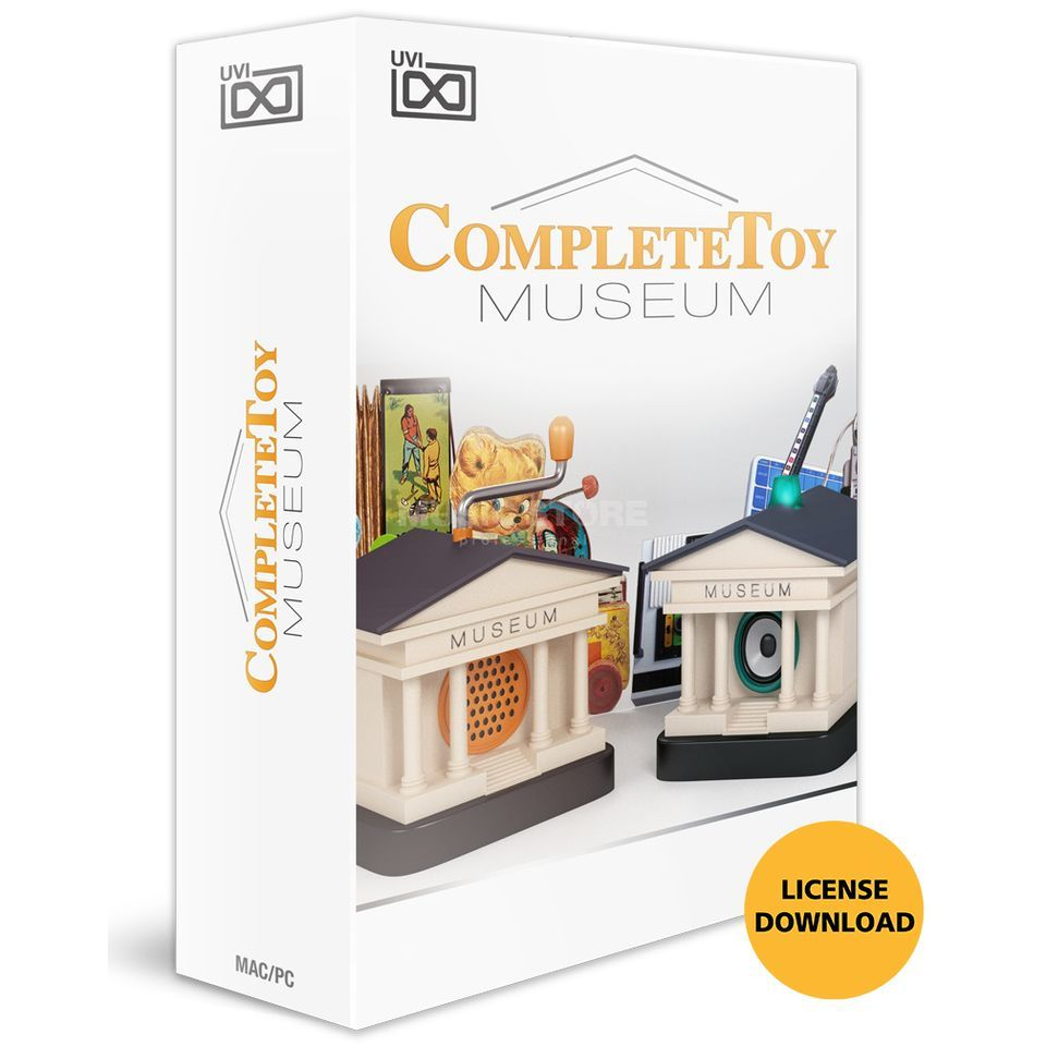 UVI Complete Toy Museum CODE  Produktbild