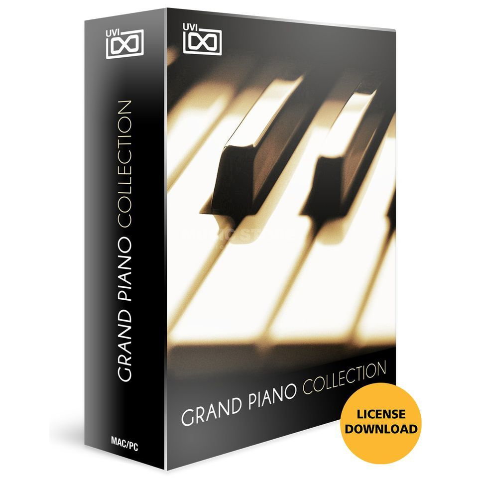 UVI Grand Piano Collection  CODE Software Instrument Produktbillede