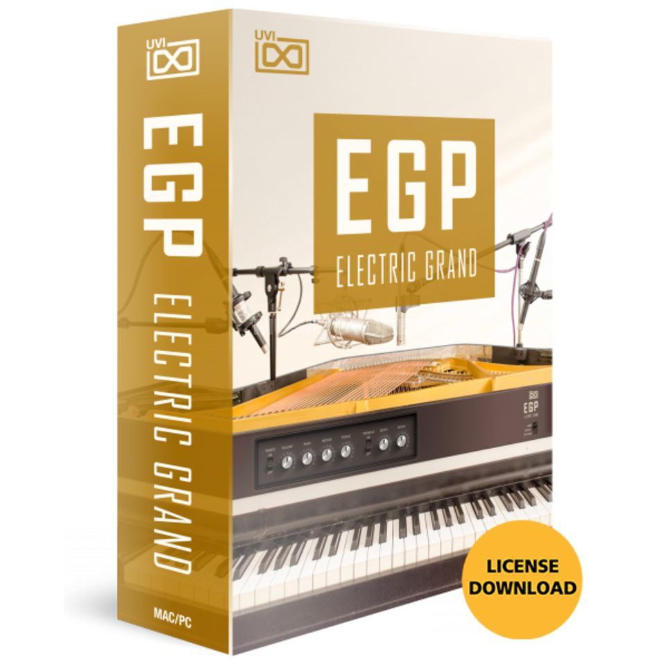 UVI Sounds & Software EGP Hyb Elec Grand Piano (CODE Software Instrument Produktbild