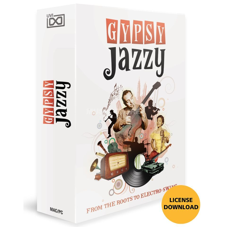 UVI Sounds & Software Gypsy Jazzy (License) Software Instrument Produktbild
