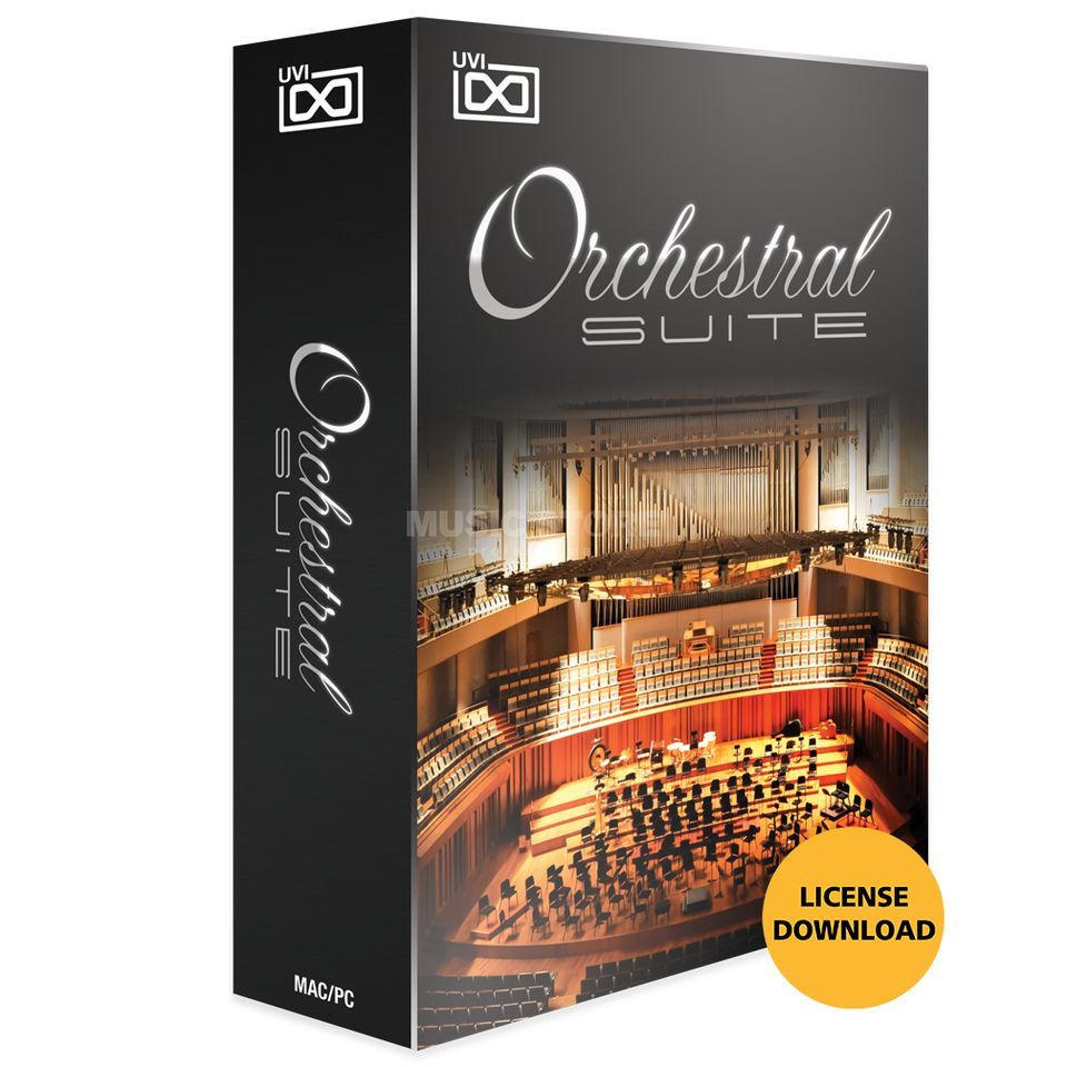 UVI Sounds & Software Orchestral Suite (License)  Produktbild