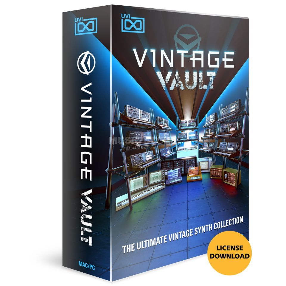 UVI Sounds & Software Vintage Vault  (Download) Produktbild