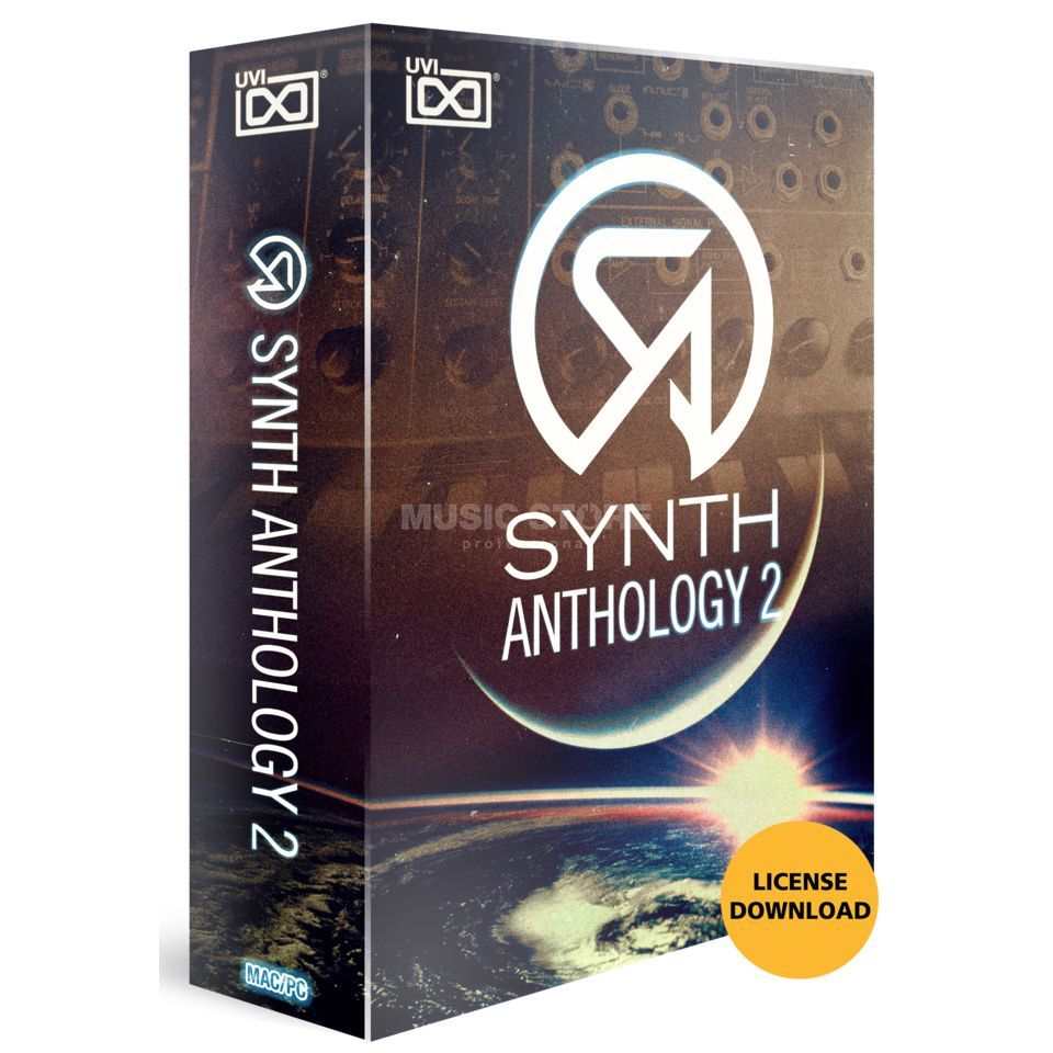 UVI Synths Anthology CODE Software Synthesizer Product Image