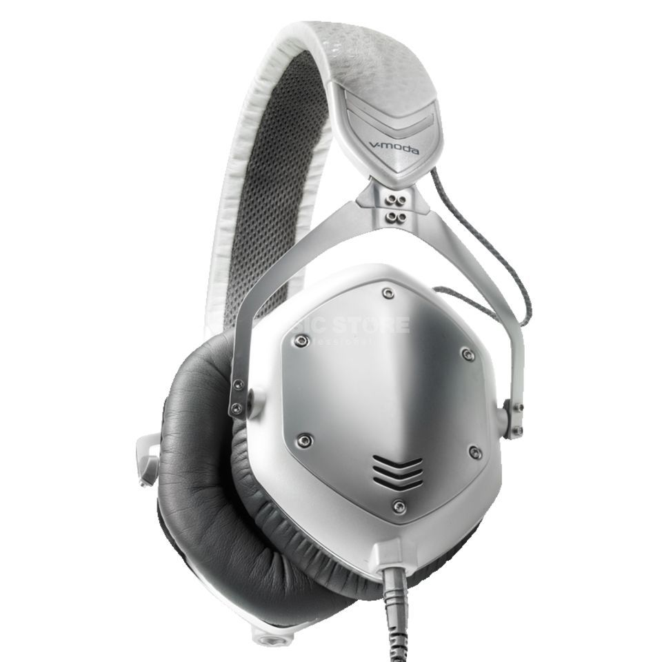 V-Moda Crossfade M-100 Headphones, white silver Product Image