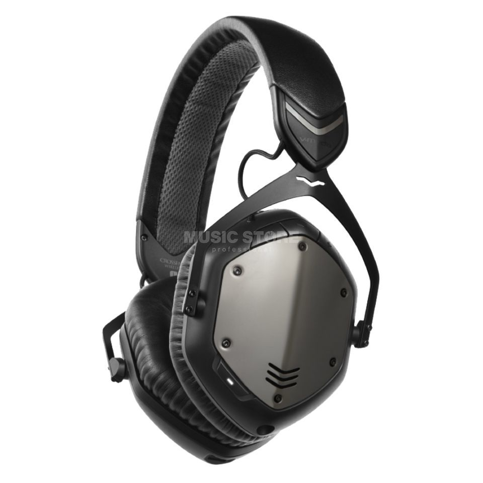 V-Moda Crossfade Wireless Gunmetal Black Productafbeelding