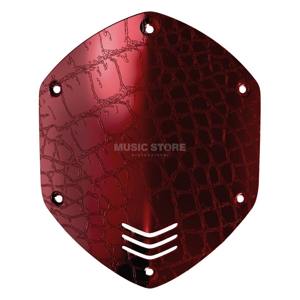 V-Moda Shield Kit M-100/LP2 (Over-Ear) croc skin red Produktbild