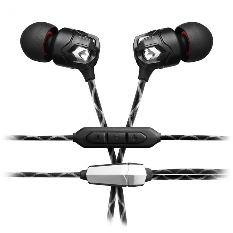 V-Moda ZN 1-Button In-Ear Headphone Black Produktbild
